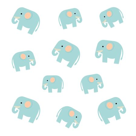 Background of an elephant