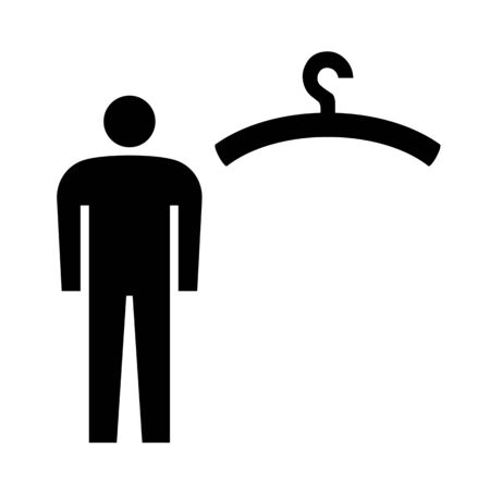 Pictogram of Mens Changing Room