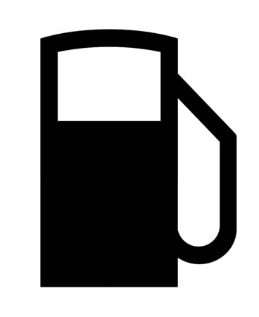Pictogram of a gas station