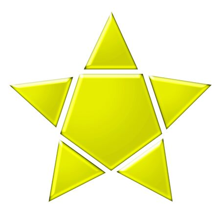 Icon of a yellow star