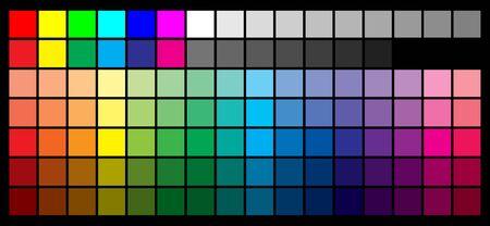 Color palette 写真素材 - 137643383
