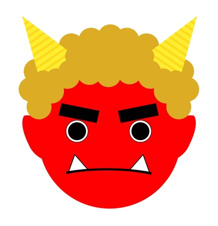 This is demons red face.