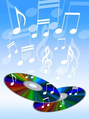 Musica che scorre da CD