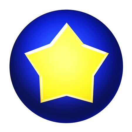 Icon of a star mark