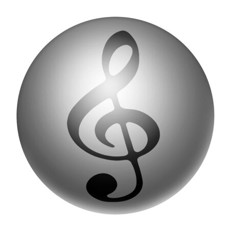 Icon of a G clef