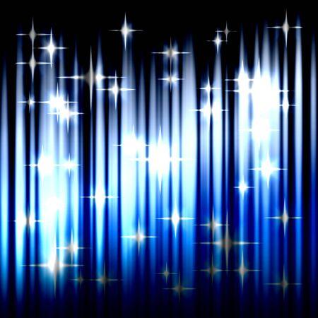 Blue glowing background Reklamní fotografie