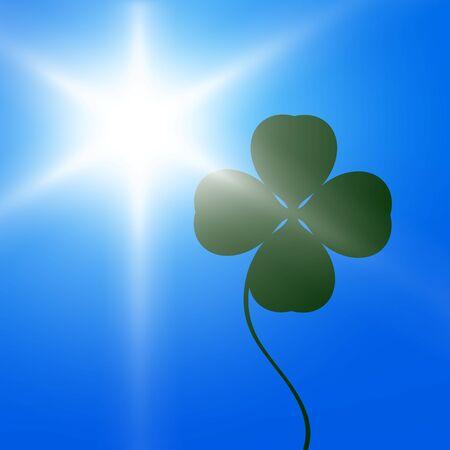 Sun and clover