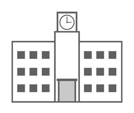 School building Фото со стока
