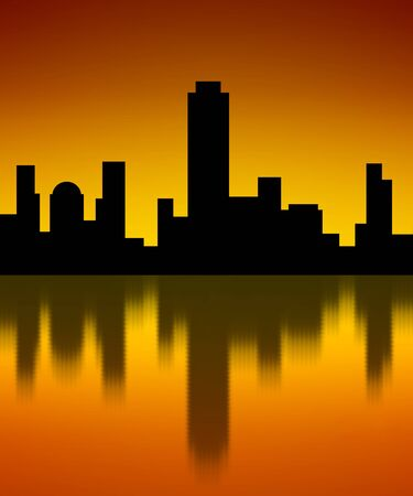 Building silhouette 版權商用圖片 - 138012871