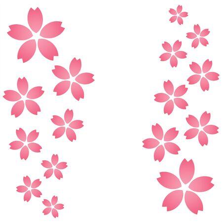 Cherry blossom pattern Фото со стока