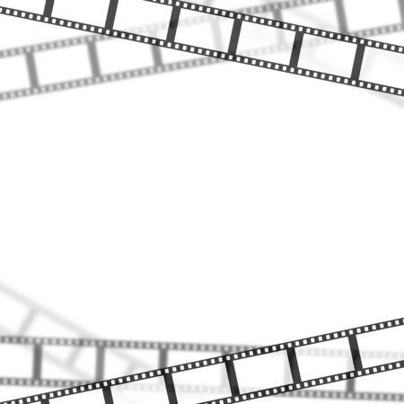 Frame of the film Фото со стока