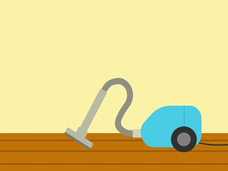 Clean the room with a vacuum cleaner