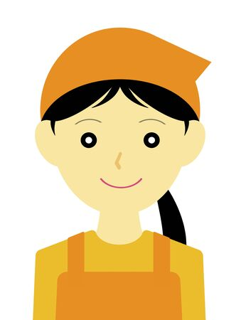 The character of the shop assistant