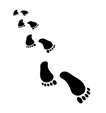 Footprint with perspective