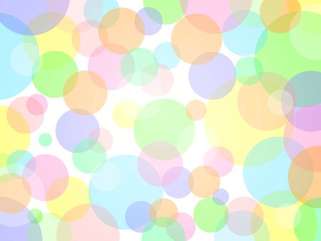 Lots of colorful bubbles background material