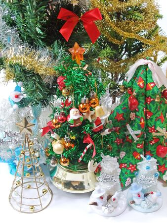 Many types of Christmas goods