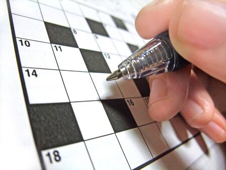 Trying to solve a crossword puzzle problem