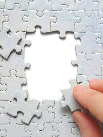 Parts without jigsaw puzzle pieces