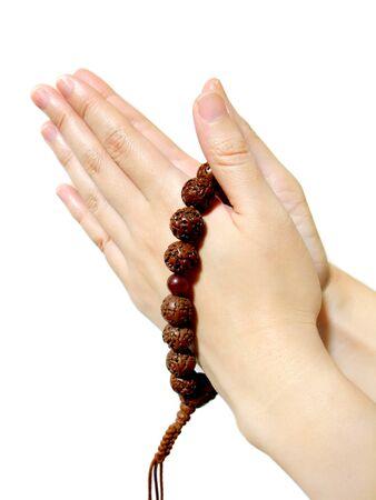 Worship using String of beads