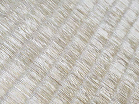 Tatami mats are laid
