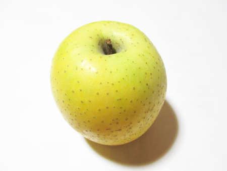 A piece of green apple