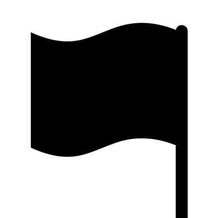 Black flag Stock fotó