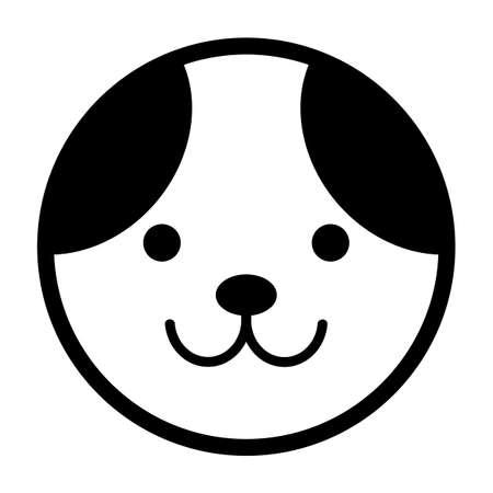Dog face 写真素材