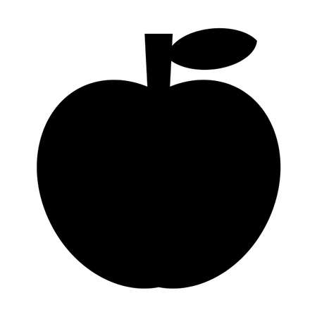Apple silhouette