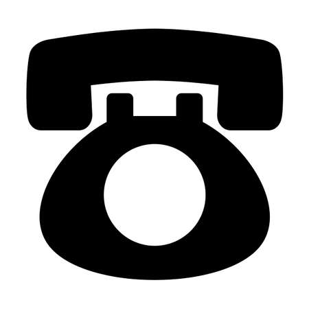 Black phone mark