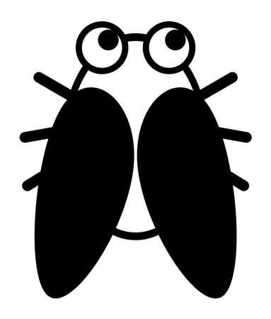 Cicada character Stock fotó