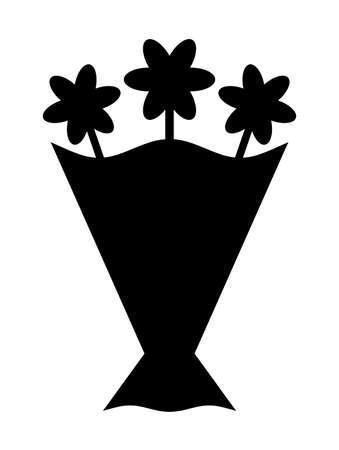 Bouquet silhouette