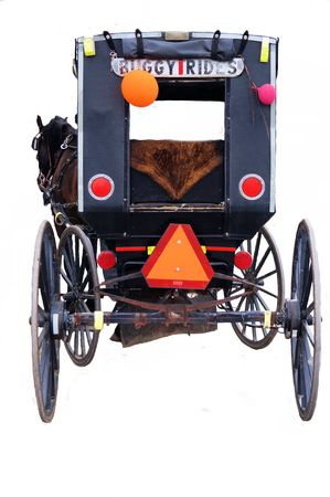 amish buggy: Amish buggy rides in Berlin, Ohio, USA