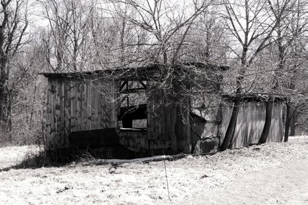 Run down shack