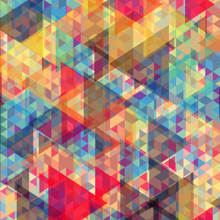 Color abstract geometric background.  Vector