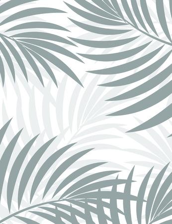 Exotische achtergrond met palmbladeren voor design in hipster stijl. De bladeren op de achtergrond. Bladeren van palm. Silhouet van palmbladeren. Hipster achtergrond. Achtergrond voor reclame