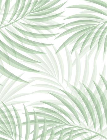 Fond exotique avec des feuilles de palmier pour la conception dans le style hippie. Les feuilles dans le fond. Feuilles de palmier. Silhouette de feuilles de palmier. Hipster fond. Contexte de la publicité Banque d'images - 45299758