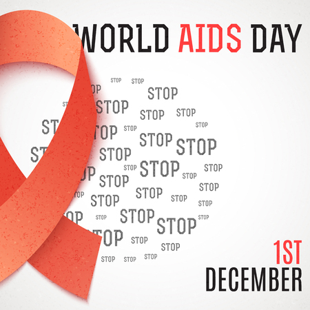 aids virus: World Aids Day. Stop Aids. 1th december. Design of the brochure against AIDS. World day of fight against AIDS. Design of the poster, brochure, card, leaflet. Treatment of AIDS. Medicine Illustration