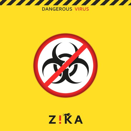 baby sick: Stop zika. Dangerous virus. Caution virus threat. Mosquitoes infected with microcephaly. Mosquitoes are carriers dangerous diseases. Virus dangerous for pregnant women,  Illustration of danger warning