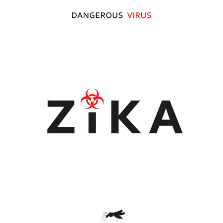 incurable: Stop zika. Dangerous virus. Caution virus threat. Mosquitoes infected with microcephaly. Mosquitoes are carriers dangerous diseases. Virus dangerous for pregnant women,  Illustration of danger warning
