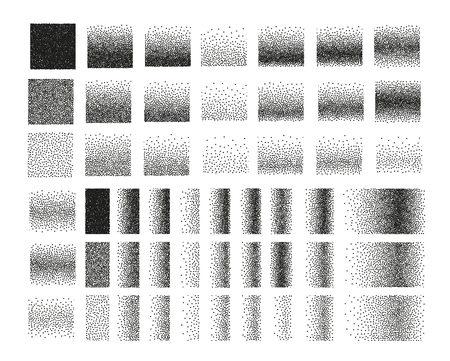 engraving: Set of 51 square stipple pattern for design . Spot engraving to create brushes . Engraving for retro backgrounds . Engraving for shade . Highly detailed set of tile engraving for design
