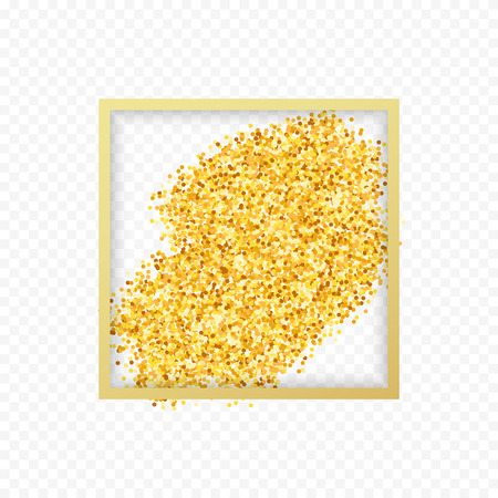 handful: Gold placer . Gold in the frame. Gold glitters . Metal gold. Gold Dust . Gold isolation. Golden sand. Handful of gold . Yellow gold,