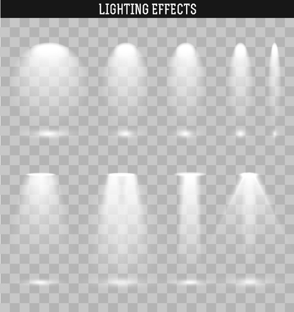 lighting effects: Set light effect. Ies light from the projector realistic isolated. Ies lighting. Photometric light. Target light. spotlight realistic effect. Isolated lighting effects. The effect of transparency.