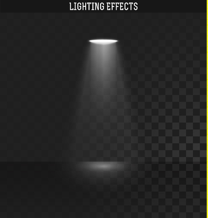 lighting effects: Light effect. Ies light from the projector realistic isolated . Ies lighting . Photometric light. Target light. spotlight realistic effect . Isolated lighting effects. The effect of transparency