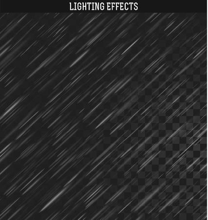 Llover efecto realista. La lluvia y la nieve aislada realista. Aguacero, precipitaciones tiempo de la lluvia. efecto natural con la lluvia.