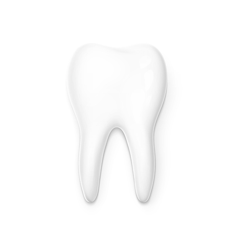 permanent: Realistic tooth isolated on a white background . White tooth for dental services. Tooth 3D. Tooth with a transparent shade . Molar. Teeth whitening . Tooth for a banner . Advertising dentistry.