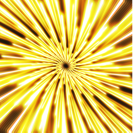 ray tracing: Bright light abstract background. special light spiral Illustration