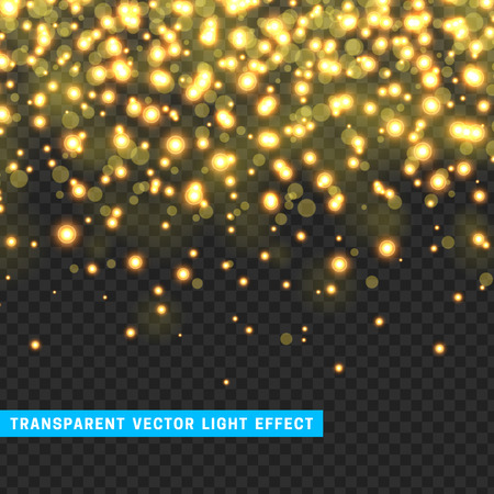Vector With Transparency Light Effect Sparklers. Glitter Background Bright Christmas  Lights. Colourful Glowing Christmas