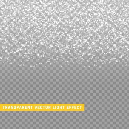 Gris efecto de luz con la textura de plata lluvia de confeti brillante. Glitter partículas brillantes estrellas. Fondo de la Navidad elemento de diseño brillante. tarjeta de felicitación de lujo Decoración de Navidad Foto de archivo - 65628375