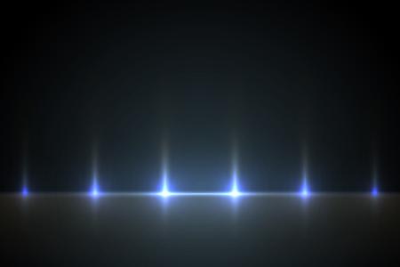 Light blue effect background for design. Light illustration backlit scenes.