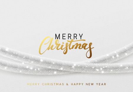 Christmas greeting card design concept. 일러스트